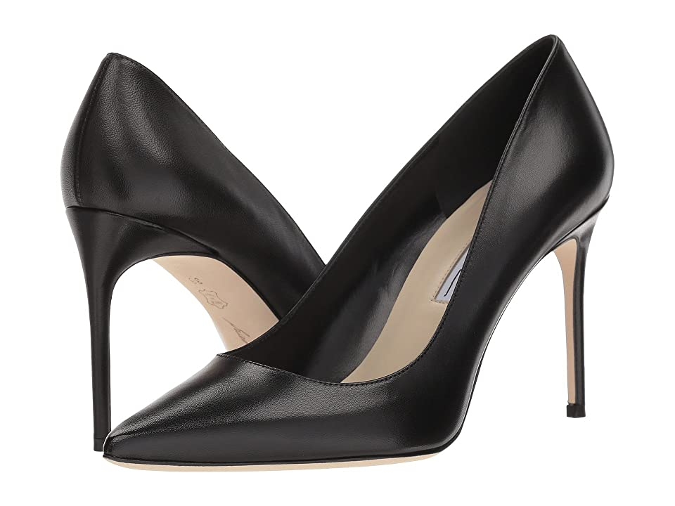 Brian Atwood Valerie (Black Leather Nappa) Women