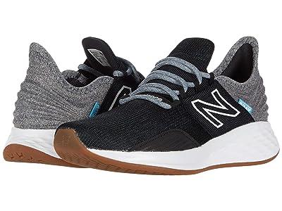 New Balance Kids Fresh Foam Roav (Little Kid) (Black/Light Aluminum) Boys Shoes