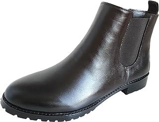 長靴 雨靴 完全防水 レインシューズ サイドゴア ショート ガーデニング 通勤 通学 2色 レディース