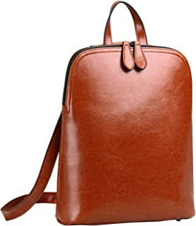 Women's Leather Backpack Casual Daypack for Ladies