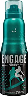 Engage Sport Cool for Him Deo Spray, 150ml / 165ml (Weight May Vary)