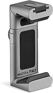 Manfrotto スマートフォンアダプター用三脚グリップ TwistGrip アルミニウム製 MTWISTGRIP シルバー 10.7 x 3 x 1.8 cm