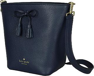fb35f0b3f Kate Spade New York Hayes Street Vanessa Textured Pebble Leather Bucket  Womens Crossbody Bag