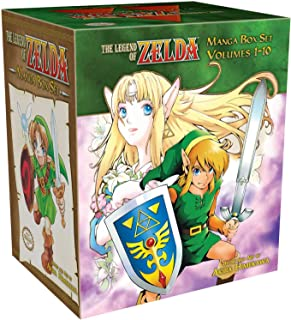 Legend Of Zelda Box Set (The Legend of Zelda) [Idioma Inglés]