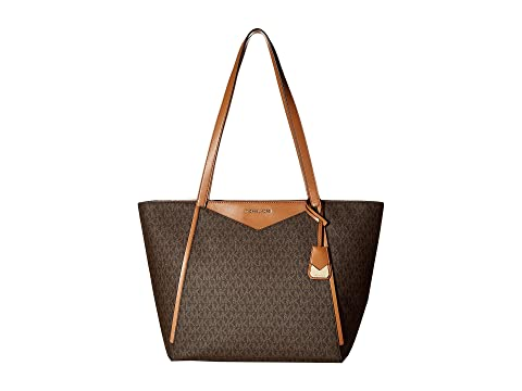 03769b0b5d07 MICHAEL Michael Kors Whitney Large Top Zip Tote at Zappos.com