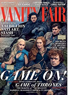 Vanity Fair April 2014 Game of Thrones The Making of the Biggest, Baddest, Bloodiest Show in TV history