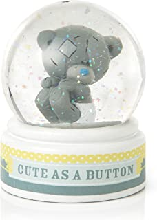 Me To You 1-Piece Tiny Tatty Teddy Cute As A Button Water Globe Yellow
