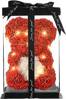 Rose Flower Bear- Rose Bear-Gifts for Girls,