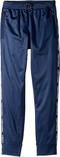 Converse Kids - Warmup Wordmark Joggers (Big Kids)