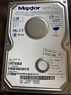 Maxtor DiamondMax 16 4R080L0 80GB 5400RPM IDE ATA/133 2MB キャッシュ 3.5インチ 内蔵ハードドライブ