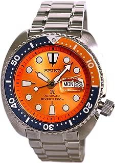 SEIKO PROSPEX Turtle Diver's 200M Automatic Watch Orange Dial SRPC95K1