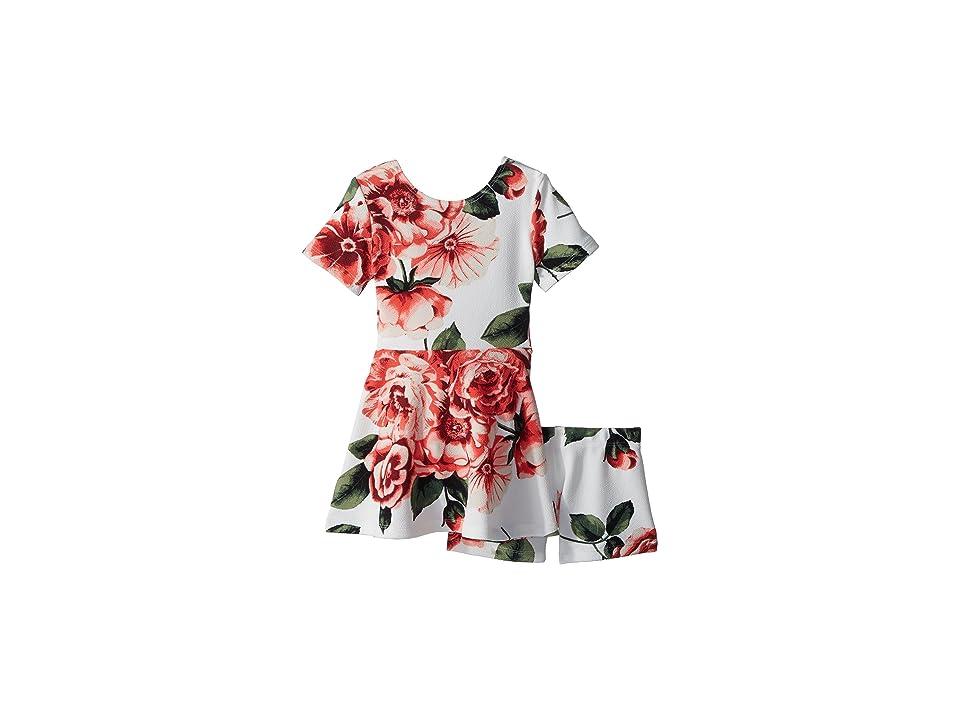 fiveloaves twofish Blooming Skater Dress (Toddler/Little Kids) (Ivory) Girl