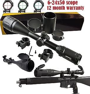 SNIPER® 6-24x50 AOE Illuminated Rifle Hunting Sniper Scope