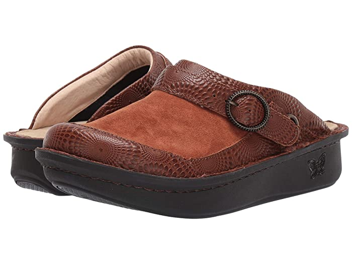 Alegria  Seville (Brandy) Womens Clog Shoes