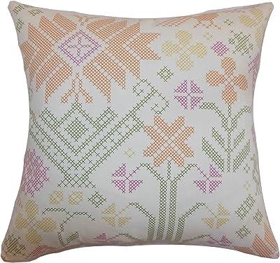 Amazon.com: JINPAI Linen Waist Pillowcase Car Square Pillow ...