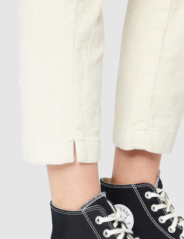Tom Tailor Denim Cordhose Pantalon Femme 22515 - Crème Douce Beige.
