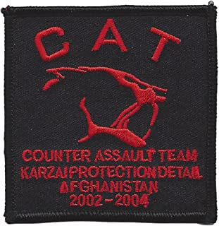 Special Forces Counter Assault Team Karzai Protection Detail Afghanistan 2002-2004 Patch