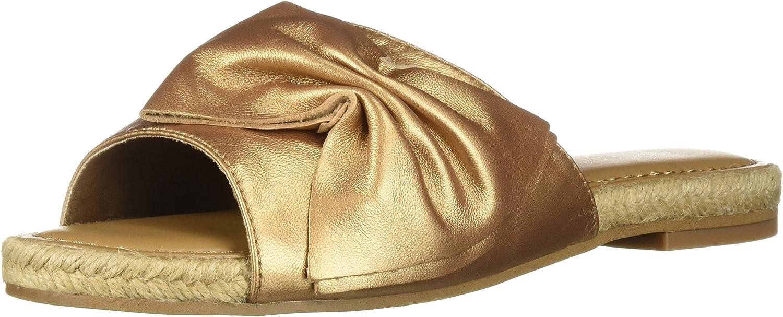 Aerosoles Woherren Buttercup Slide Sandal, Bronze Leather, 11 M US