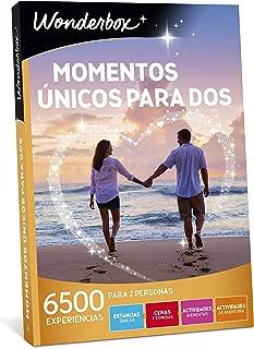 WONDERBOX Caja Regalo para la Navidad -Momentos ÚNICOS para Dos- 6.500 experiencias para Dos Personas