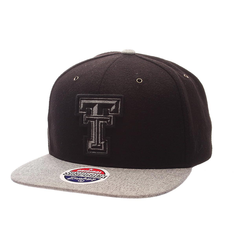 NCAA Texas Tech Red Raiders Adult Men's Executive Snapback Hat, Adjustable Size, Team Color/Gray