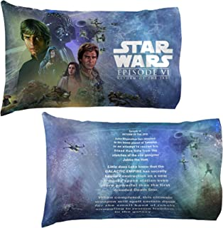 Jay Franco Star Wars Celebration Return of The Jedi Limited Edition 2 Pack Pillowcase, One Size Fits All, Episode 6
