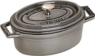 staub mini cocotte Oval 11cm gray 40500-116 (1,101,118)