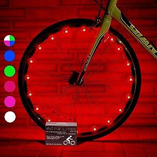 Activ Life Luces LED para Ruedas de Bicicletas Baterías