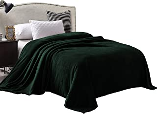 Exclusivo Mezcla Luxury Queen Size Flannel Velvet Plush Solid Bed Blanket as Bedspread/Coverlet/Bed Cover (90