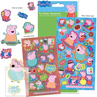 Paper Projects 01.70.31.001 Peppa Pig Assortiment d'autocollants