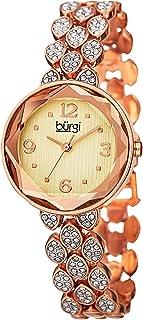 بورجي ساعة رسمية للنساء انالوج بعقارب خليط معدني - BUR124RG