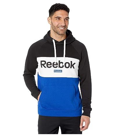 Reebok Training Essentials Big Logo Over The Head Hoodie (Black) Men