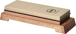 KING KW65 1000/6000 Grit Combination Whetstone with Plastic Base (Stone)