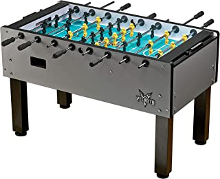 HJ Scott Velocity Foosball Table Series - 1 or 3 Goalie and Multiple Color Options