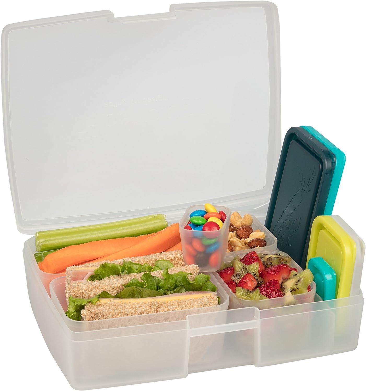 Bentology   Bento Lunch Box Set mit mit mit 5 Behältern   Beach B00TT2UEWE d61700