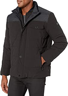 TUMI Men's Mixed Media Jacket