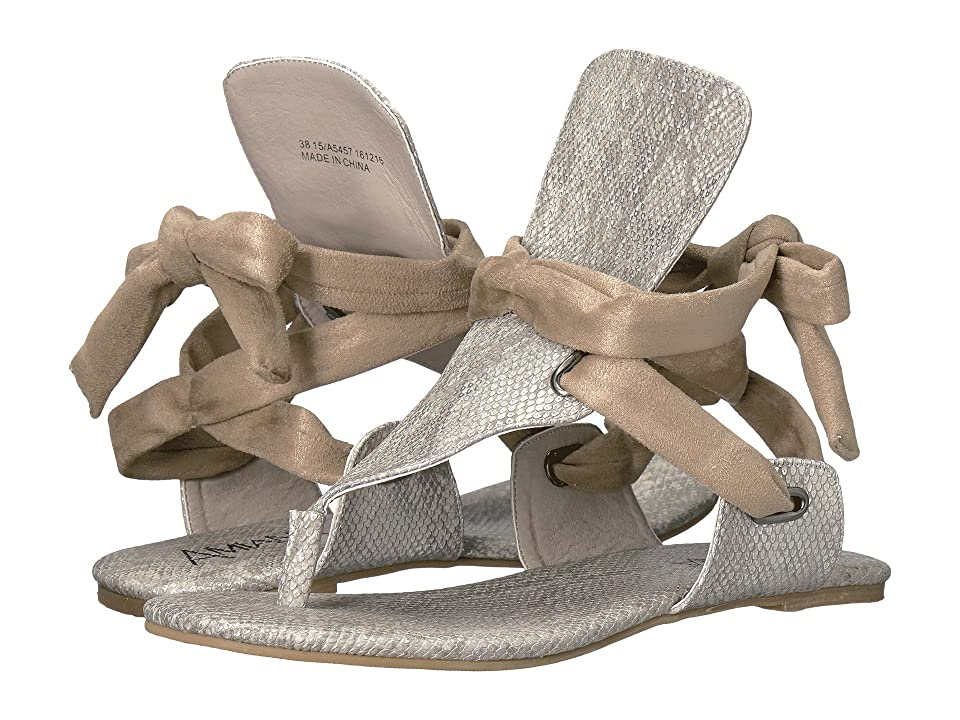 Amiana 15-A5457 (Little Kid/Big Kid/Adult) (Taupe Viper Suede) Girl