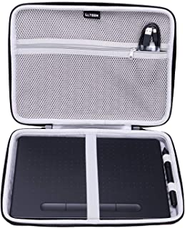 "LTGEM EVA Hard Case Fit for Wacom Intuos Wireless Graphic Medium Tablet, Size 10.4""x 7.8"" (CTL6100)"