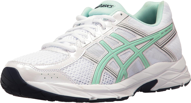 ASICS Woherrar Gel -Content 4 springaning skor, skor, skor, vit  Bay  silver, 9.5 M US  bara för dig