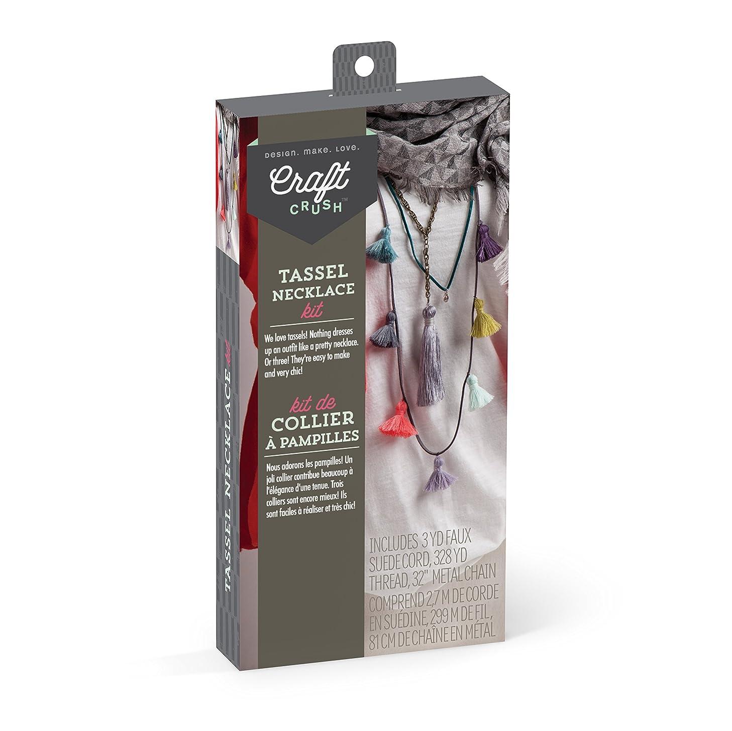 Craft Crush Tassel Necklace Kit