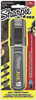 Sharpie Pro Chisel Tip Black Marker, Black, X-Large
