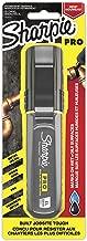 Sharpie Pro Permanent Marker, XL, Chisel Tip, Black Marker (2018347)