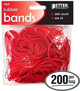 rubber bands red