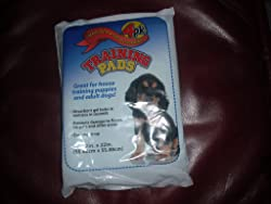 Heavy Duty & Super-absorbent Training Pads for Puppies & Adult Dogs, 22in X 22 in, 4 pack