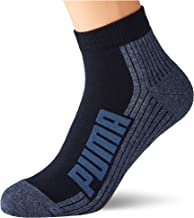PUMA PUMA Unisex BWT Cushioned Quarter Socks (2 pack) uniseks-volwassene Sokken