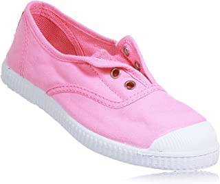 Kids Canvas Slip On Sneakers For Girls and Boys (Toddler/Little Kid/Big Kid)