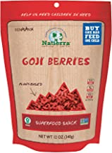 NATIERRA Himalania Goji Berries | Non-GMO & Vegan | 12 Ounce