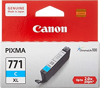 Canon BJ Cartridge CLI-771 C XL, Cyan
