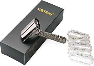 Weishi Classic Twist to Open Double Edge Safety Razor
