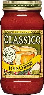 Classico Four Cheese Pasta Sauce (24 oz Jar)