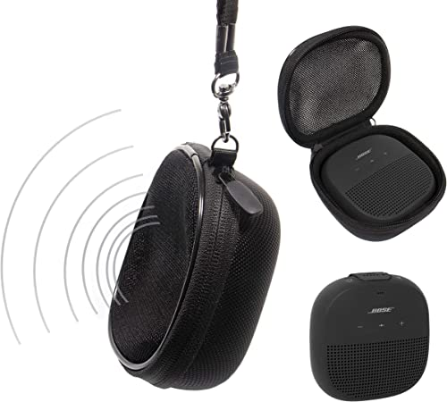 high quality Protective Case for Bose SoundLink Micro Bluetooth Speaker, Sound Through sale Design-Playing in The outlet online sale case, Wrist Strap for Easy Carrying online sale